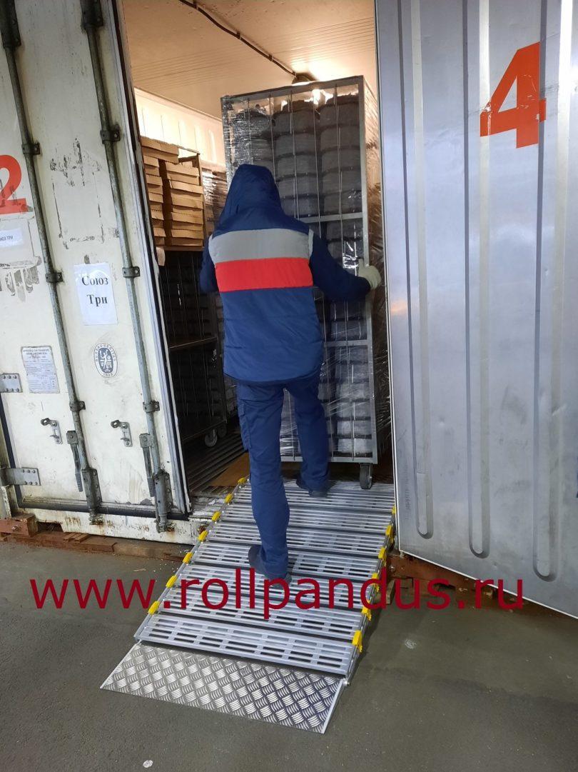 Роллопандус на кондитерском производстве